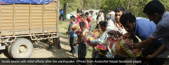 locals assist with relief efforts after the earthquake (Photo from ActionAid Nepal facebook page) (1).jpg